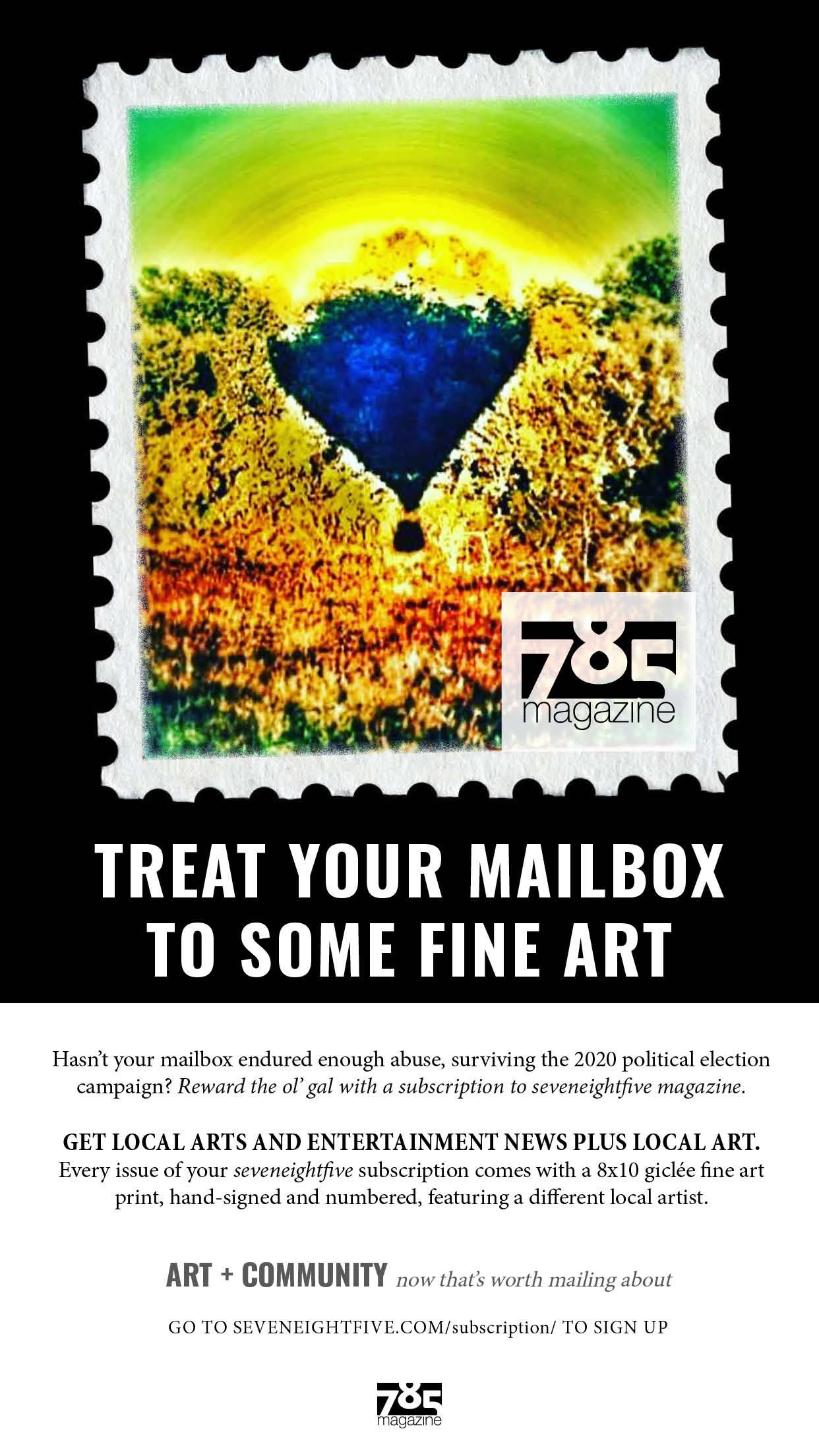 785 Mag Sub Mailbox