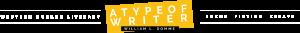 atypeofwriter logo